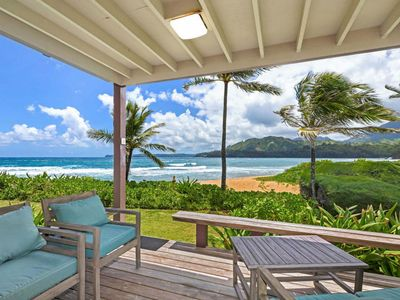Photo for Hanalei Colony Resort #G-1 - a 2br/2ba ocean front condominium in Haena