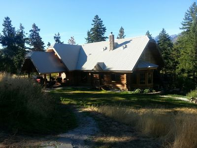 Photo for Beautiful Log Home Featured on HGTV's Log Cabin Living