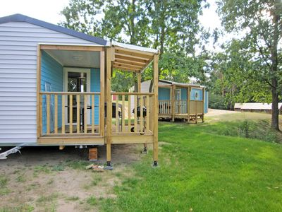 Photo for Mobile homes Lagoon 1 & 2 - Mobile homes on the beach