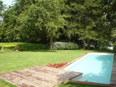 Photo for House with garden and pool in the border of Minho River