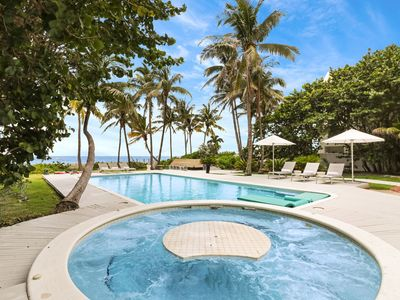 Photo for *Save 15% + Discounted Summer Rate* - 100 ft beachfront resort - $14,500/wk