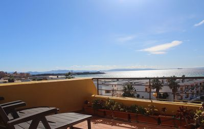 Photo for Beach Penthouse Apartment - Los Lances