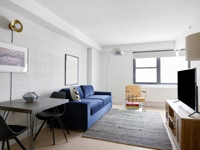 Photo for Sonder | The Nash | Bold 1BR + Rooftop