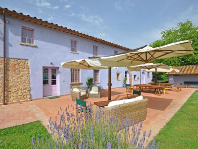 Photo for 7 bedroom Villa, sleeps 17 with Pool, Air Con and FREE WiFi