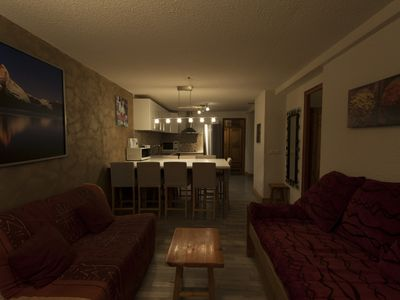 Photo for SPACIOUS APARTMENT (8 PERS IN ROOM) DRC TERRACE quiet internet wifi renovated