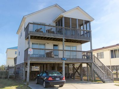 Photo for K1408 A Shore Thing. Oceanside Home with Hot Tub located in Kill Devil Hills!