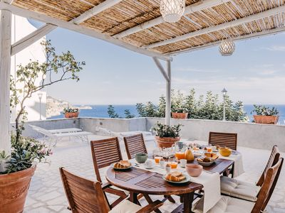 Photo for Aquamarine - private terrace breathtaking view - Free Parking