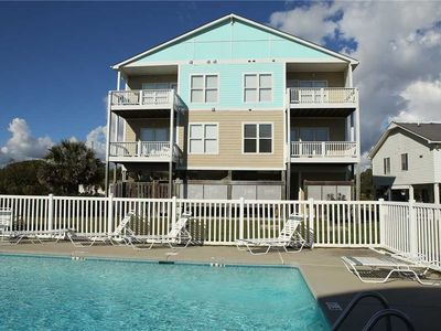 Photo for Bluewater Unit 105B: 2 BR / 2 BA condo in Pine Knoll Shores, Sleeps 6