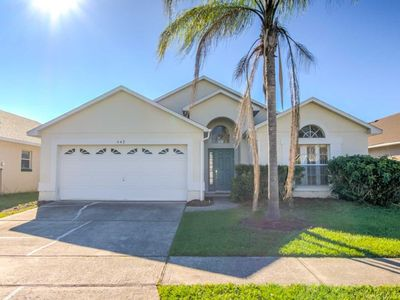 Photo for Privacy Fence Around Pool - Free Wifi - 15 Minutes to Disney - Enclosed Heatable Pool