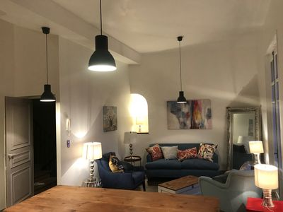 Photo for Gorgeous spacious apartment in Collioure superbly located in the old town