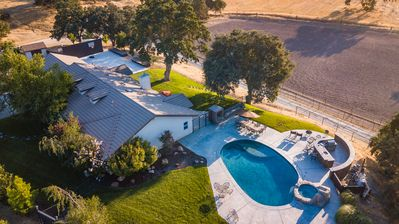 Photo for Camp 8 Ranch - Cowboy Living Meets Wine Country at its Best.