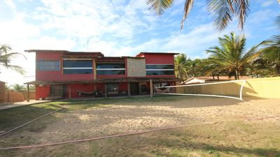 Photo for Large house in front of Sabacui Beach in Nova Viçosa, with pool, sauna, tennis court
