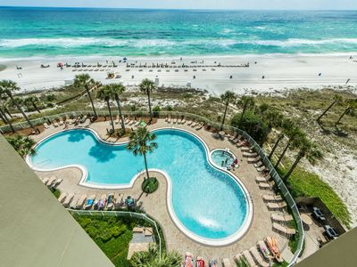 Photo for ☀Rooftop Pool @ Grand Panama 1-702☀2BR BeachFRONT! July 22 to 24 $952 Total!