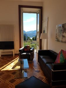 "Photo for Villa Floreal, family apartment ""Vista al Lago"""