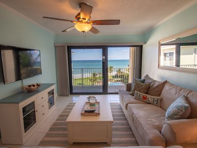 Photo for Oceanfront! Views from every room! 2/2 recently updated in beautiful Vero Beach