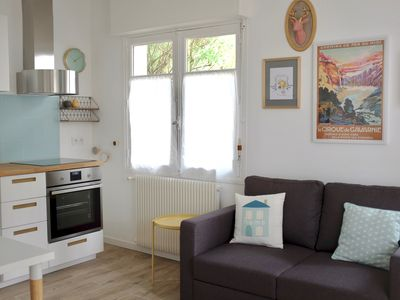 Photo for 1BR Apartment Vacation Rental in Cambo-les-Bains, Nouvelle-Aquitaine