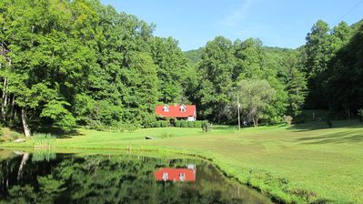 Photo for Jimbo's Farm - 53 Acre Retreat with Trout Pond and Stream
