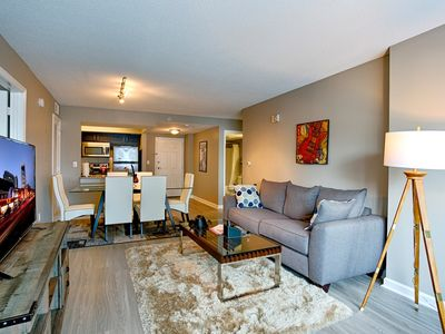 Photo for Honky Tonk Luxury 2BR/2BATH - Fast WIFI - Work Area -  Free Parking! (CH2)