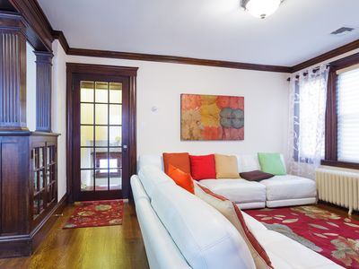 Photo for European style 3 Bed/2 Bath close to all (20 min to Back Bay/Copley Sq.)
