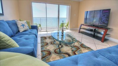 Photo for Exquisite Top Floor View of Pristine Gulf and Shoreline in Madeira Beach!