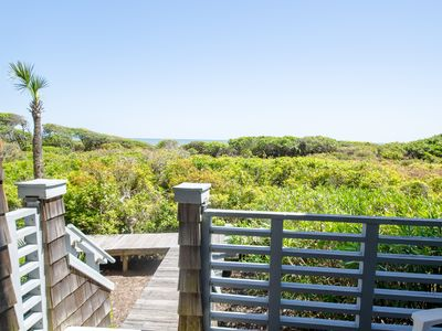 Photo for Beautiful 1st Floor villa- Dune Views and Direct boardwalk access