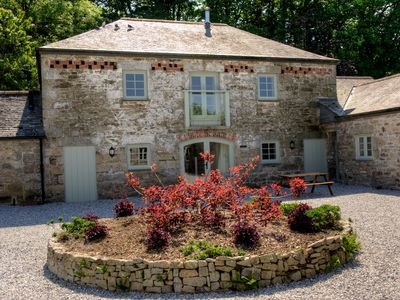 Photo for A beautifully converted barn 15 minutes north of Falmouth. 5* Gold award rated