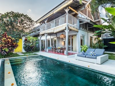 Photo for 3 BR Villa Close to Beach in Canggu