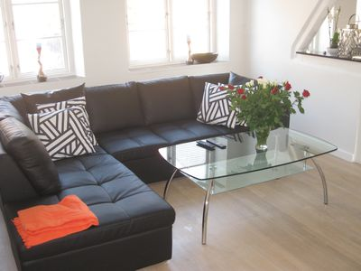 Photo for 160m2 luxury apartment centrally located in Korsor