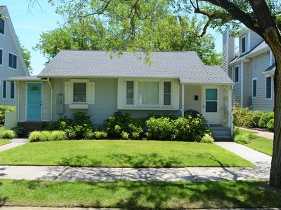 Photo for Cottage on New York Ave - 2 Blocks to the Beach, Walk to Town