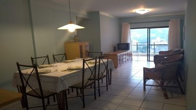 Photo for Apartment with 3 bedrooms and 200m from Enseada Guarujá beach
