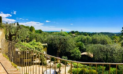 Photo for Beautiful villa in an exclusive private village, between Valbonne and Mougins