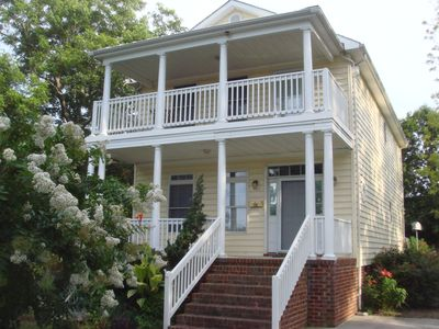 Spacious newer home with wonderful porches and deck overlooking Chesapeake Bay