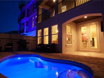 Photo for Gorgeous 9 Bedroom Home with Elevator, Private Pool and Play Yard + 8 Bikes!