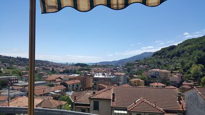 Photo for Lovely apartment with splendid views over the enchanting Gulf of Spezia