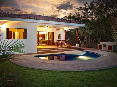 Photo for Comfortable Casita With Small Pool - Steps From Beach, Restaurant And Surf Break