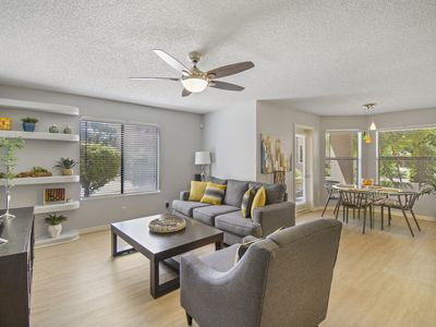 Photo for Spacious Ground Floor Condo with HEATED POOL & GYM