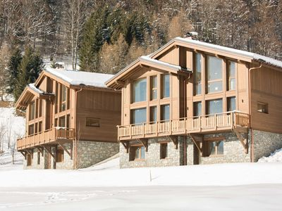 Photo for Stylish chalet in charming Megève, 1,5 km. from a ski slope