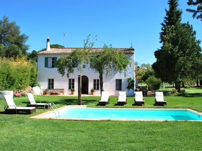 Photo for Exclusive house. Large garden & pool. Quiet. Walking distance from nice village