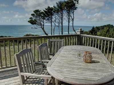 Photo for Beautiful home and stunning views in near Beverly Beach for 12 guests!