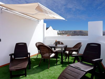 Photo for Apartment Conpe, near the beach, large terrace and sea views.