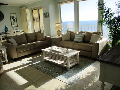 Photo for Newly Renovated Sept 2018:  Gulf front; Flat Screen TVs; Beach Service; CLEAN!!