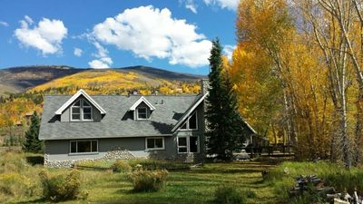 Photo for Riverfront Home - Private/Great Views/Private Fishing/Skiing/Biking