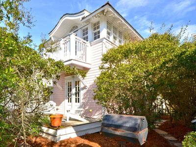 Photo for Seaside Proper -Charming Guest House - View of the Gulf! - Seaside, FL Rental