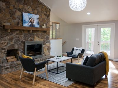 Photo for Spacious Wooded Retreat