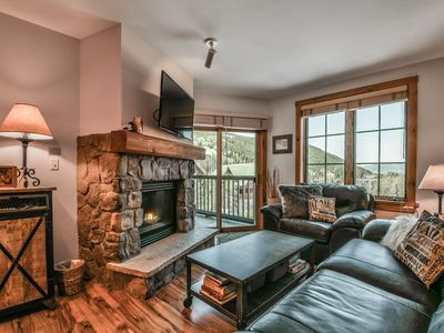 Photo for Updated condo in the Village! Outdoor Hot Tubs and Heated Pool! Walk to Summer Festivals