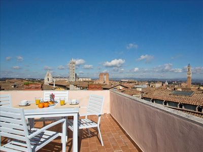 Photo for INTERNO 5 - the highest terrace of Siena