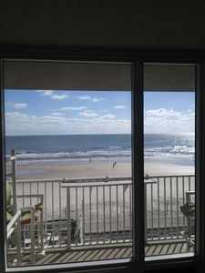 Photo for Ocean Front Private Balcony Spectacular Ocean Views Direct Beach Access