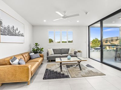 Photo for Rockpool 2... Luxury apartment in Sawtell's Main Street, 100m from the beach!