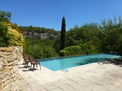 Photo for Provencal Luxury Villa with pool in Monts de Vaucluse ,Secluded  home