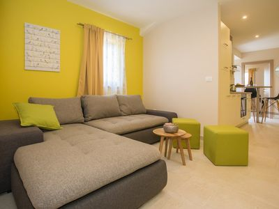Photo for Holiday apartment Visnjan for 4 - 5 persons with 2 bedrooms - Holiday apartment in one or multi-fami